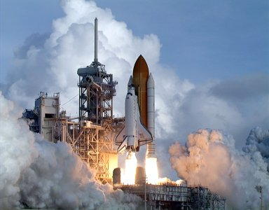 A perfect launch of Atlantis on mission STS-106