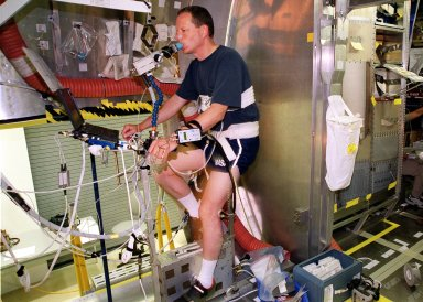 STS-107 Crew Equipment Interface Test (CEIT)activities at SPACEHAB