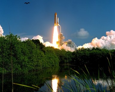 STS-112 Atlantis Launch from LC-39B