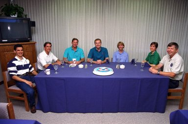STS-94 Crew Breakfast prior to Launch