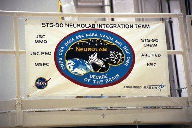 Neurolab payload undergoes further processing in the O&C