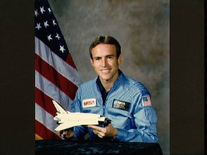 Offical portrait of Astronaut candidate William F. Fisher