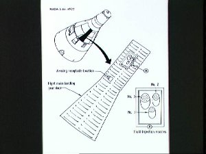 Location of reentry communications experiment planned for Gemini 3 flight