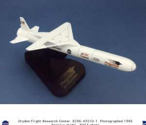 Pegasus Rocket Model