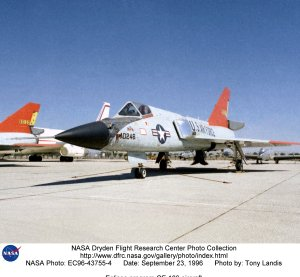 Eclipse program QF-106 aircraft