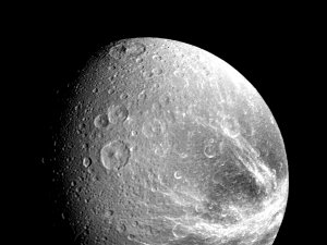 The Saturnian moon Dione