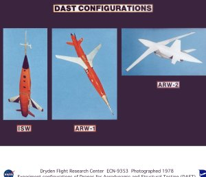 Experiment Configurations for the DAST