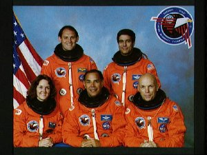 STS-33 Discovery, OV-103, Official crew portrait