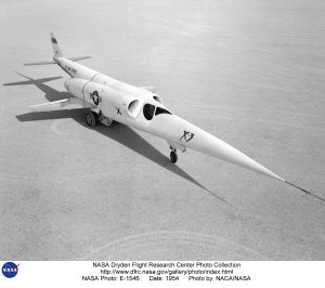 X-3 on Lakebed