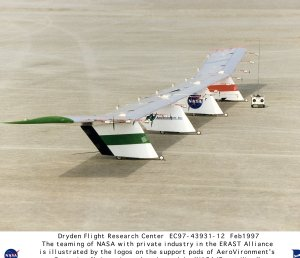 Centurion Quarter-scale Prototype on Lakebed Ready for Flight