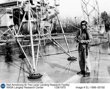 Neil Armstrong At The Lunar Landing Research Facility