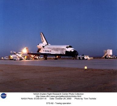 STS-92 - Towing operation