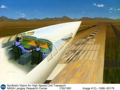 Synthetic Vision for High Speed Civil Transport