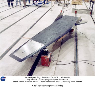 X-43A Vehicle During Ground Testing