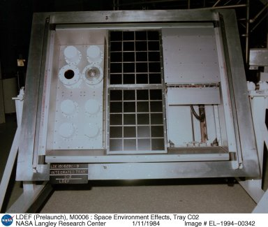 LDEF (Prelaunch), M0006 : Space Environment Effects, Tray C02
