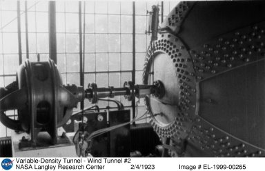 Variable-Density Tunnel - Wind Tunnel #2
