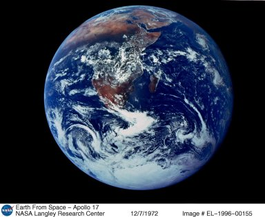 Earth From Space - Apollo 17