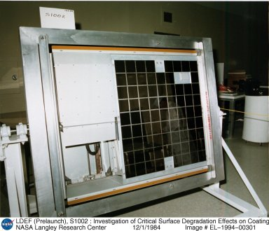 LDEF (Prelaunch), S1002 : Investigation of Critical Surface Degradation Effects on Coating and Solar