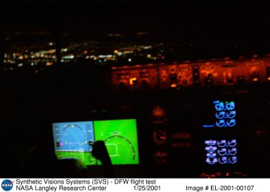 Synthetic Visions Systems (SVS) - DFW flight test