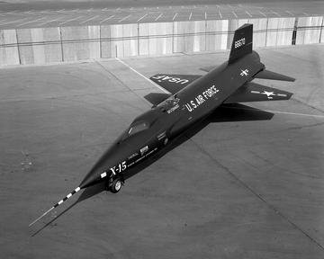 X-15 EXPERIMENTAL AIRPLANE