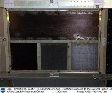 LDEF (Postflight), AO175 : Evaluation of Long-Duration Exposure to the Natural Space Environment on