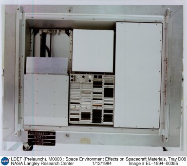 LDEF (Prelaunch), M0003 : Space Environment Effects on Spacecraft Materials, Tray D08