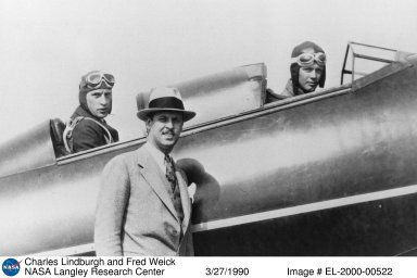 Charles Lindburgh and Fred Weick
