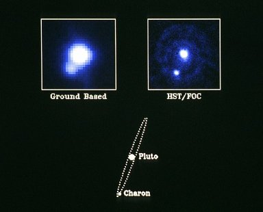 """First ESA Faint Object Camera Science Images Pluto - the """"Double Planet"""