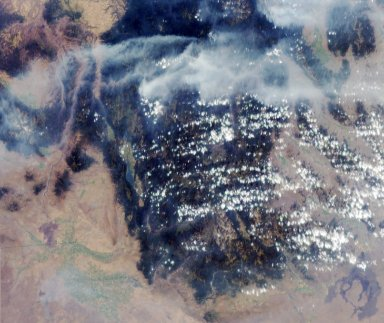 MISR Images Wildfires in Northwestern US