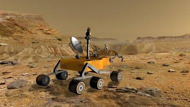 Mars Science Laboratory at Canyon