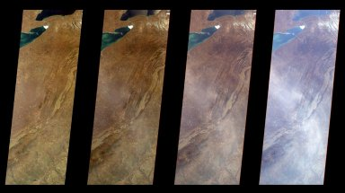 Multi-Angle Views of the Appalachian Mountains, 6 March 2000