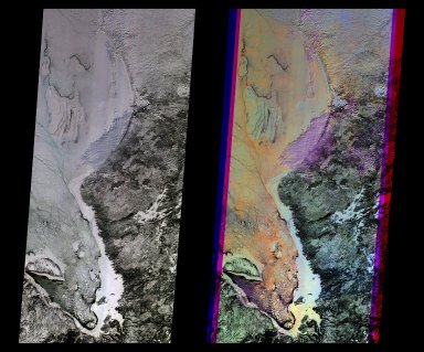 Multi-angle Images of Hudson Bay and James Bay, Canada, 24 February 2000