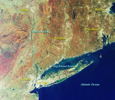 MISR Views New York and Southern New England