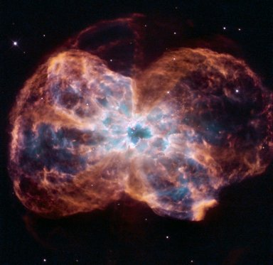The Colorful Demise of a Sun-like Star