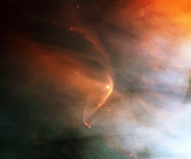 Orion Nebula and Bow Shock