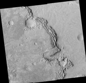 Sharp Scarp and Varied Features