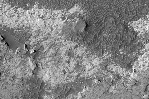 Northern Meridiani Etched Terrain and Hematite Plains Contact