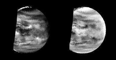 Venus - Lower-level Clouds As Seen By NIMS
