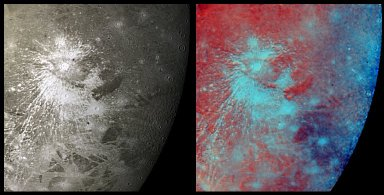 Crater Rays on Ganymede