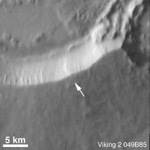 Recently-Formed Impact Crater