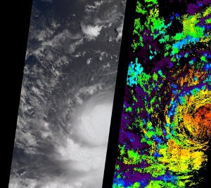 A Strengthening Eastern Pacific Storm