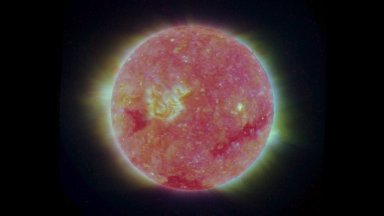 Full Disk Image of the Sun, March 26, 2007