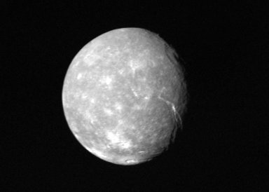Full-disk view of Titania