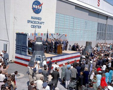 Astronaut John Glenn being Honored