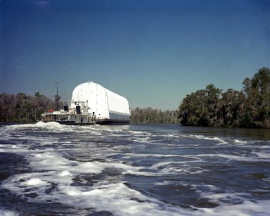 Rocket Barge on the Pearl River