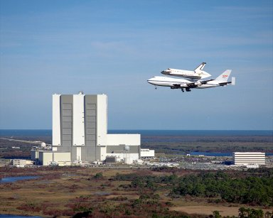 STS-32 Return to KSC