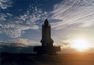 STS-83 Rollout