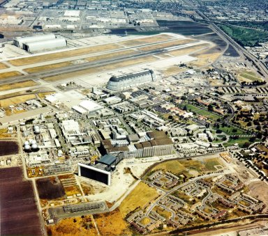Aerial View of the NASA Ames Research Center