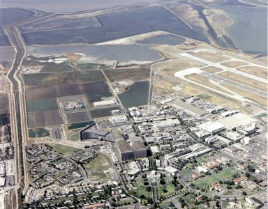 Aerial View of NASA Ames Research Center