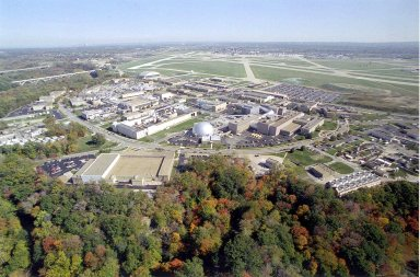 Aerial View of Glenn Research Center at Lewis Field